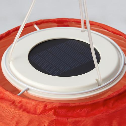 SOLVINDEN - 太陽能LED吊燈, 戶外/球形 橙色 | IKEA 香港及澳門 - PE796671_S4
