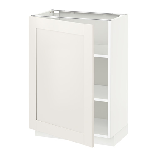 METOD - 地櫃連層板, 白色/Sävedal 白色   IKEA 香港及澳門 - PE528782_S4