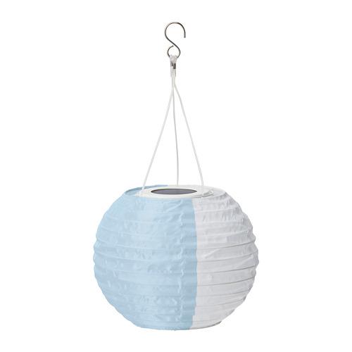 SOLVINDEN - 太陽能LED吊燈, 白色 藍色/戶外 球形   IKEA 香港及澳門 - PE796674_S4