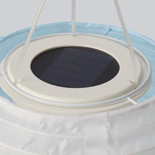 SOLVINDEN - 太陽能LED吊燈, 白色 藍色/戶外 球形   IKEA 香港及澳門 - PE796677_S4
