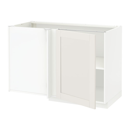 METOD - 角位地櫃連層板, white/Sävedal white | IKEA 香港及澳門 - PE528802_S4