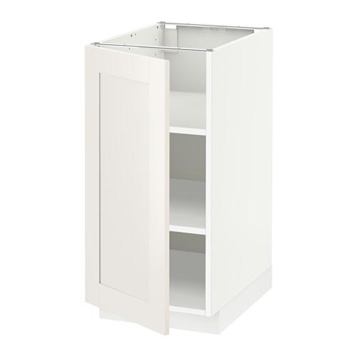METOD - 地櫃連層板, 白色/Sävedal 白色 | IKEA 香港及澳門 - PE528860_S4