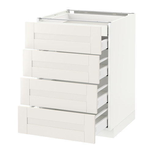 METOD - base cb 4 frnts/2 low/3 md drwrs, white Maximera/Sävedal white | IKEA Hong Kong and Macau - PE528866_S4
