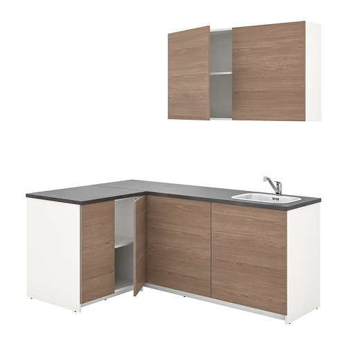 KNOXHULT - kitchen, wood effect grey | IKEA Hong Kong and Macau - PE742905_S4