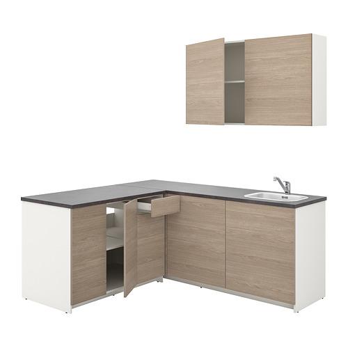 KNOXHULT - kitchen, wood effect grey | IKEA Hong Kong and Macau - PE742904_S4