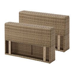 SOLLERÖN - armrest section, outdoor, brown | IKEA Hong Kong and Macau - PE701716_S3