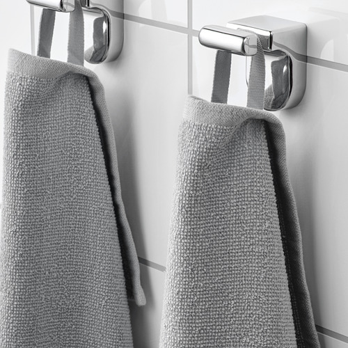 KORNAN - 浴巾, 灰色 | IKEA 香港及澳門 - PE751897_S4