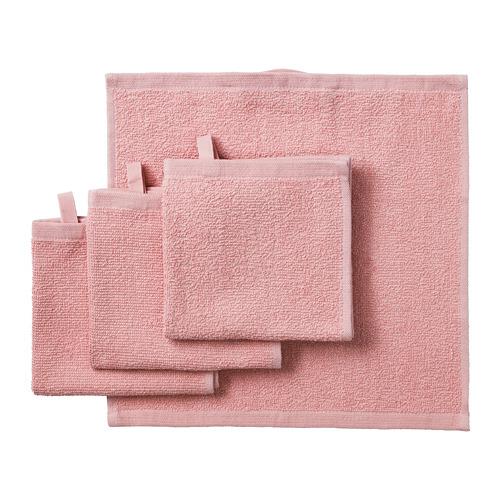 KORNAN - 面巾, 粉紅色   IKEA 香港及澳門 - PE751874_S4