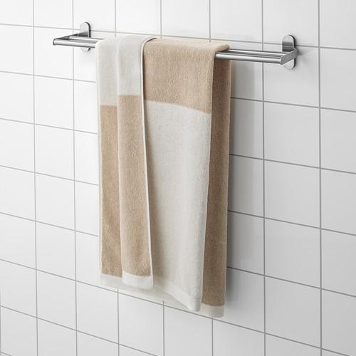 HIMLEÅN - 浴巾, 米黃色/混色   IKEA 香港及澳門 - PE742992_S4