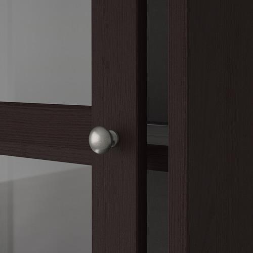 HAVSTA - storage comb w sliding glass doors, dark brown | IKEA Hong Kong and Macau - PE692336_S4
