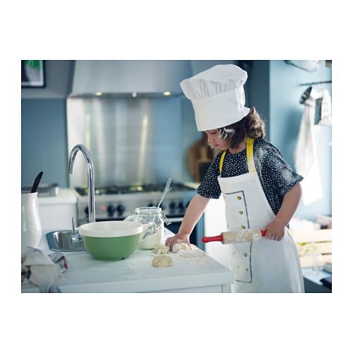 TOPPKLOCKA 兒童圍裙連廚師帽