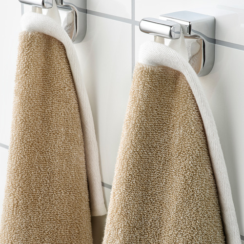 HIMLEÅN - 浴巾, 米黃色/混色   IKEA 香港及澳門 - PE742974_S4