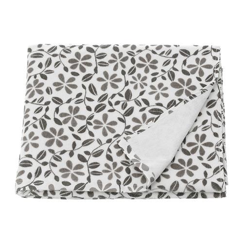 JUVELBLOMMA - 浴巾, 白色/灰色 | IKEA 香港及澳門 - PE743015_S4