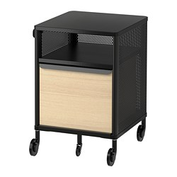 BEKANT - 活動貯物組合, 網狀 黑色 | IKEA 香港及澳門 - PE701895_S3