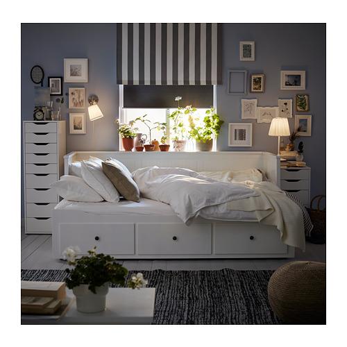 HEMNES - 日間床連3抽屜及2床褥, 白色/Malfors 特級承托 | IKEA 香港及澳門 - PH156987_S4