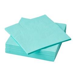 FANTASTISK - 餐紙巾, 淺湖水綠色 | IKEA 香港及澳門 - PE796924_S3