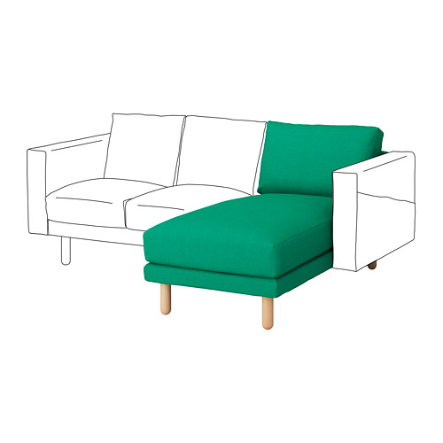 NORSBORG cover chaise longue section