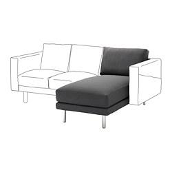 NORSBORG - 躺椅組合, Finnsta 深灰色/金屬 | IKEA 香港及澳門 - PE654613_S3