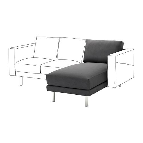 NORSBORG - 躺椅組合, Finnsta 深灰色/金屬 | IKEA 香港及澳門 - PE654613_S4