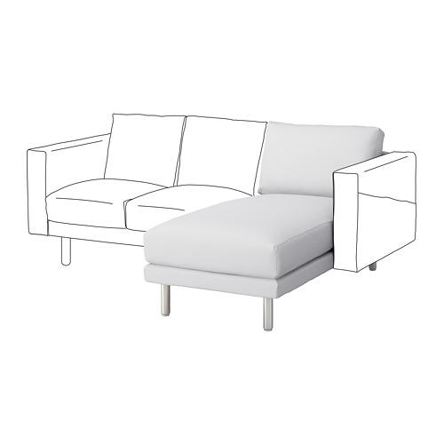 NORSBORG chaise longue section