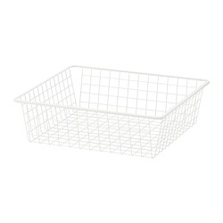 HJÄLPA - wire basket, white | IKEA Hong Kong and Macau - PE701945_S3