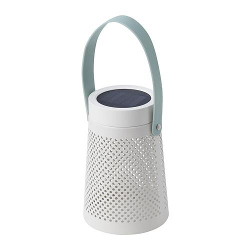 SOLVINDEN - 太陽能LED座檯燈, 圓錐形 白色 | IKEA 香港及澳門 - PE796956_S4