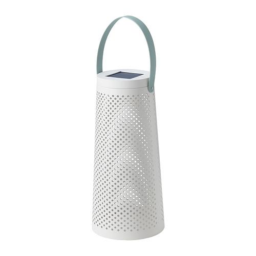 SOLVINDEN - 太陽能LED座地燈, 圓錐形 白色 | IKEA 香港及澳門 - PE796962_S4
