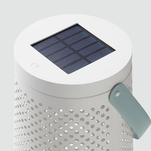 SOLVINDEN - 太陽能LED座地燈, 圓錐形 白色 | IKEA 香港及澳門 - PE796961_S4