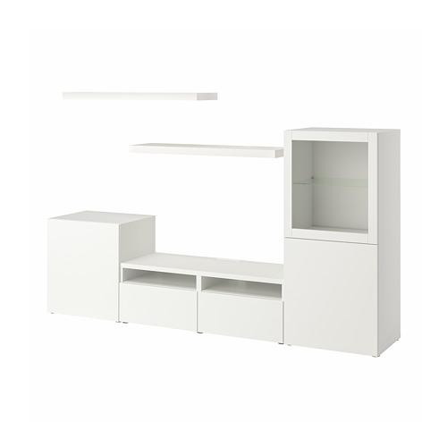 LACK/BESTÅ - TV storage combination, white | IKEA Hong Kong and Macau - PE796983_S4