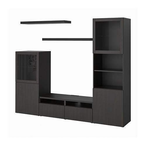 LACK/BESTÅ - 電視貯物組合, 棕黑色 | IKEA 香港及澳門 - PE796986_S4