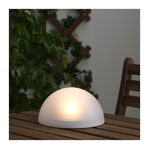 SOLVINDEN - 太陽能LED裝飾燈, 戶外/半球 白色 | IKEA 香港及澳門 - PE654643_S4