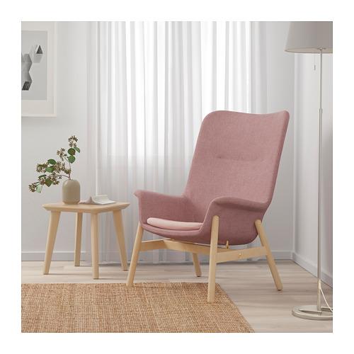 VEDBO - high-back armchair, Gunnared light brown-pink | IKEA Hong Kong and Macau - PE701950_S4