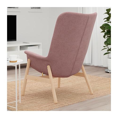 VEDBO - high-back armchair, Gunnared light brown-pink | IKEA Hong Kong and Macau - PE701952_S4