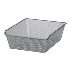 KOMPLEMENT - mesh basket, dark grey | IKEA Hong Kong and Macau - PE701970_S3