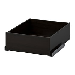 KOMPLEMENT - drawer, black-brown | IKEA Hong Kong and Macau - PE701998_S3