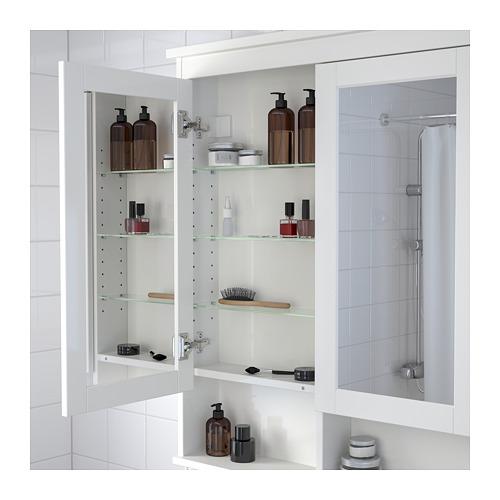 HEMNES - 雙門鏡櫃, 白色   IKEA 香港及澳門 - PE654734_S4