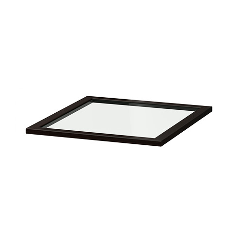 KOMPLEMENT - glass shelf, black-brown   IKEA Hong Kong and Macau - PE702048_S4