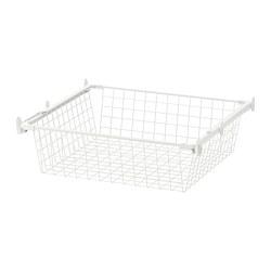 HJÄLPA - 鋼條籃連導軌, 白色 | IKEA 香港及澳門 - PE702081_S3