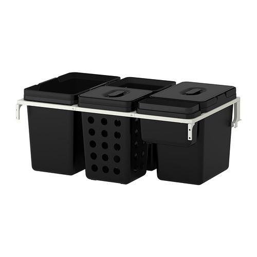 VARIERA/UTRUSTA 廚櫃用分類垃圾箱
