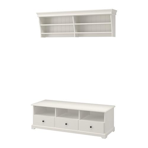 LIATORP - TV storage combination, white | IKEA Hong Kong and Macau - PE702268_S4