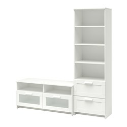 BRIMNES - TV storage combination, white | IKEA Hong Kong and Macau - PE702275_S3
