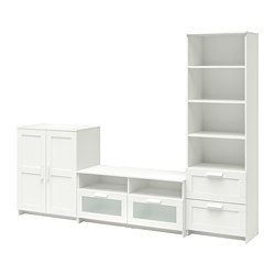 BRIMNES - TV storage combination, white | IKEA Hong Kong and Macau - PE702274_S3