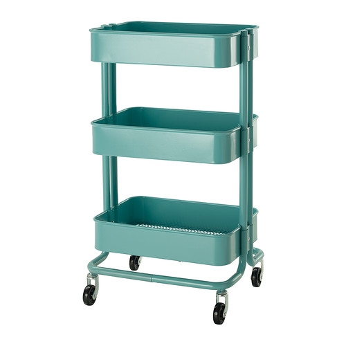 RÅSKOG - trolley, turquoise | IKEA Hong Kong and Macau - PE304208_S4