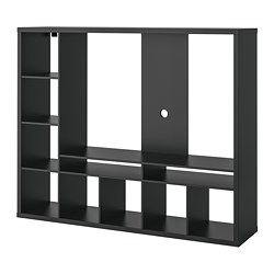 LAPPLAND - TV storage unit, black-brown | IKEA Hong Kong and Macau - PE702463_S3