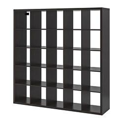 KALLAX - 層架組合, 棕黑色 | IKEA 香港及澳門 - PE702465_S3