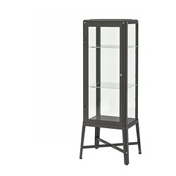 FABRIKÖR - glass-door cabinet, dark grey | IKEA Hong Kong and Macau - PE702478_S3