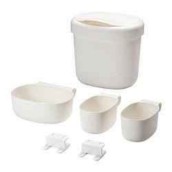ÖNSKLIG - 更換尿布檯貯物籃,4件套裝, 白色 | IKEA 香港及澳門 - PE383429_S3