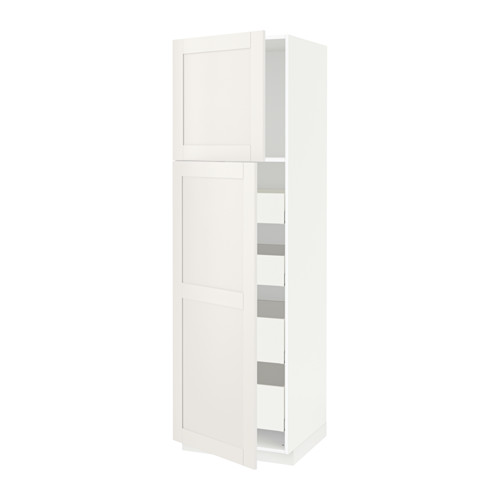 METOD/MAXIMERA - hi cab w 2 doors/4 drawers, white/Sävedal white | IKEA Hong Kong and Macau - PE529734_S4