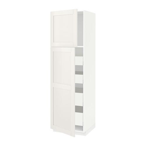 METOD/MAXIMERA - hi cab w 2 doors/4 drawers, white/Sävedal white | IKEA 香港及澳門 - PE529734_S4