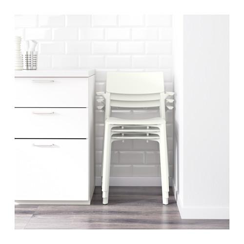 JANINGE - chair with armrests, white | IKEA Hong Kong and Macau - PE594882_S4